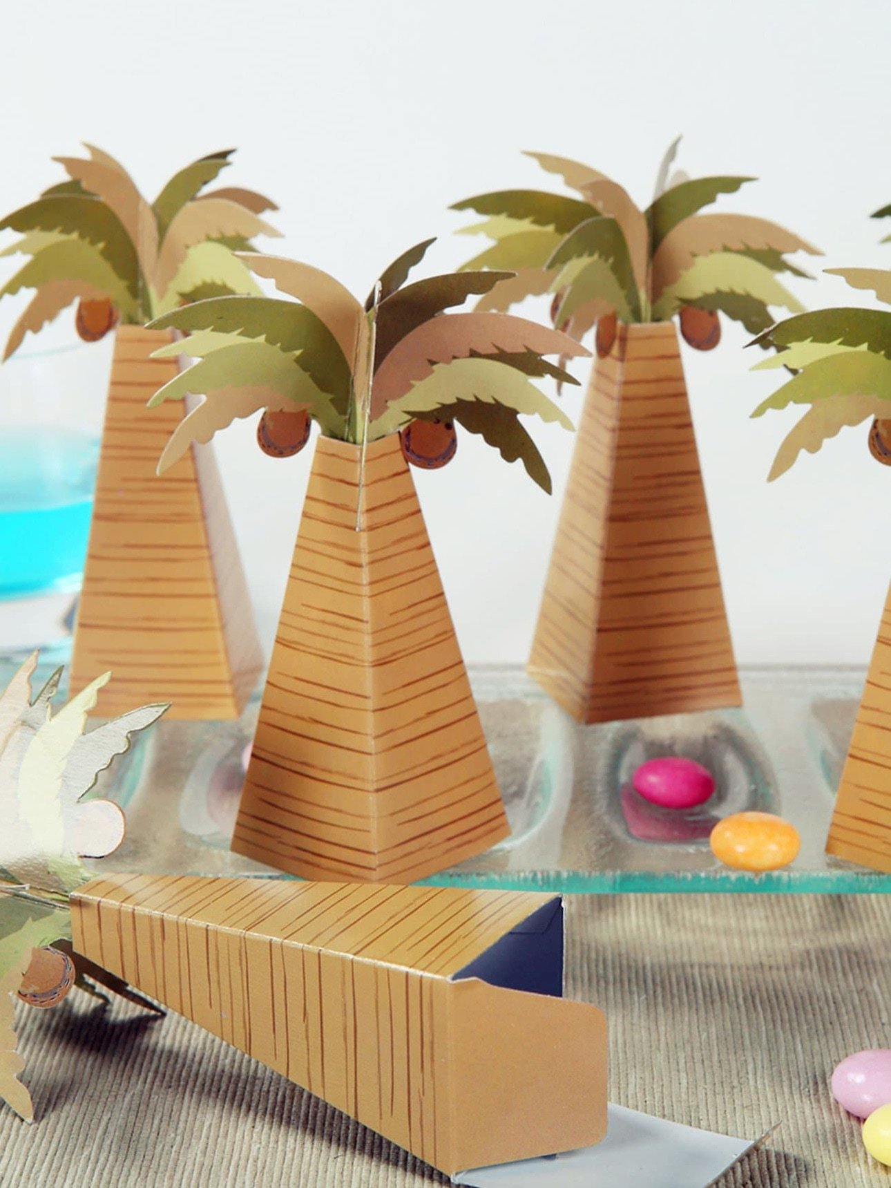 Coconut Tree Candy Box 12pcs