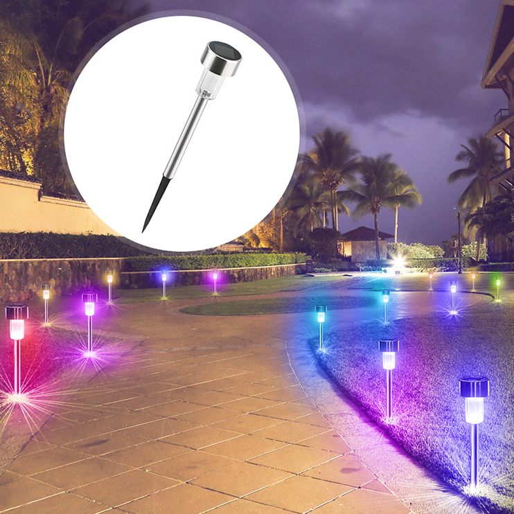 Stainless steel solar lawn light