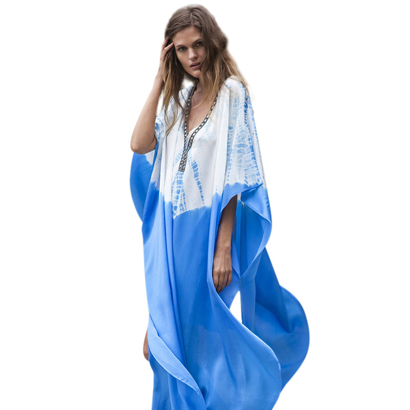 Plus size women's spring and summer robe
