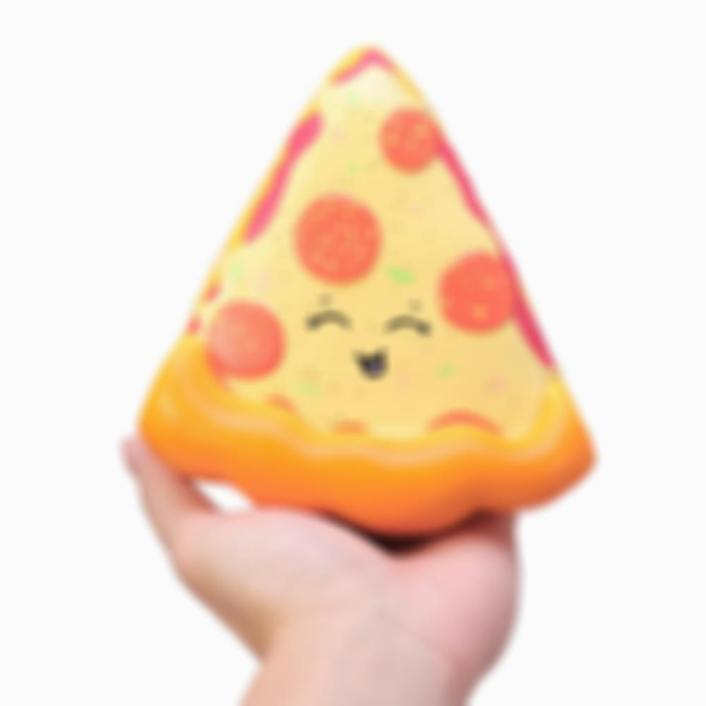 Pizza Squishy 14.5*13.5*5cm Slow Rising Soft Toy With Original Packing