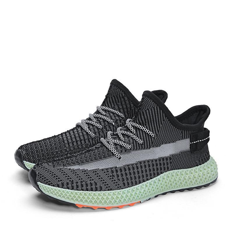 British branded fly knit shoes in 2020