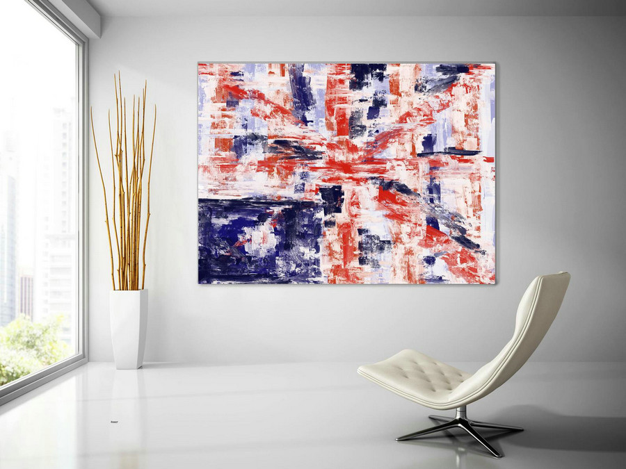 Extra Large Wall Art Palette Knife Artwork Original Painting,Painting on Canvas Modern Wall Decor Contemporary Art, Abstract Painting Pic007