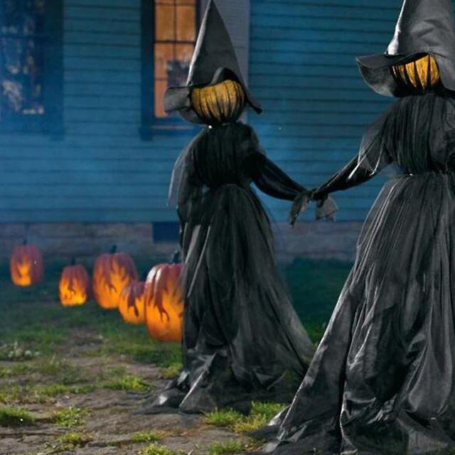 Happy Halloween🔥🔥🔥Lighted Halloween Witch Decoration Set-FREE SHIPPING