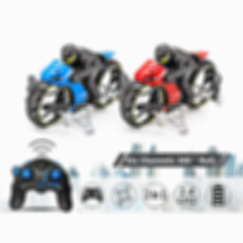 2 in 1 Remote Mini Drone Flying Motorcycle Toy