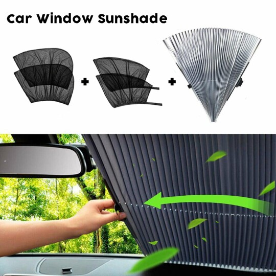 [Summer Essentials]Universal Car Window Screens -Protect And Cool Your Vehicle