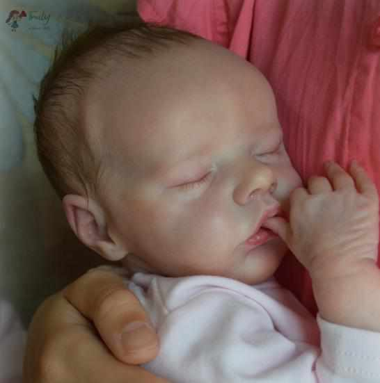 """[MID-YEAR OFFER] 17""""Named Macy Reborn Baby Doll"""