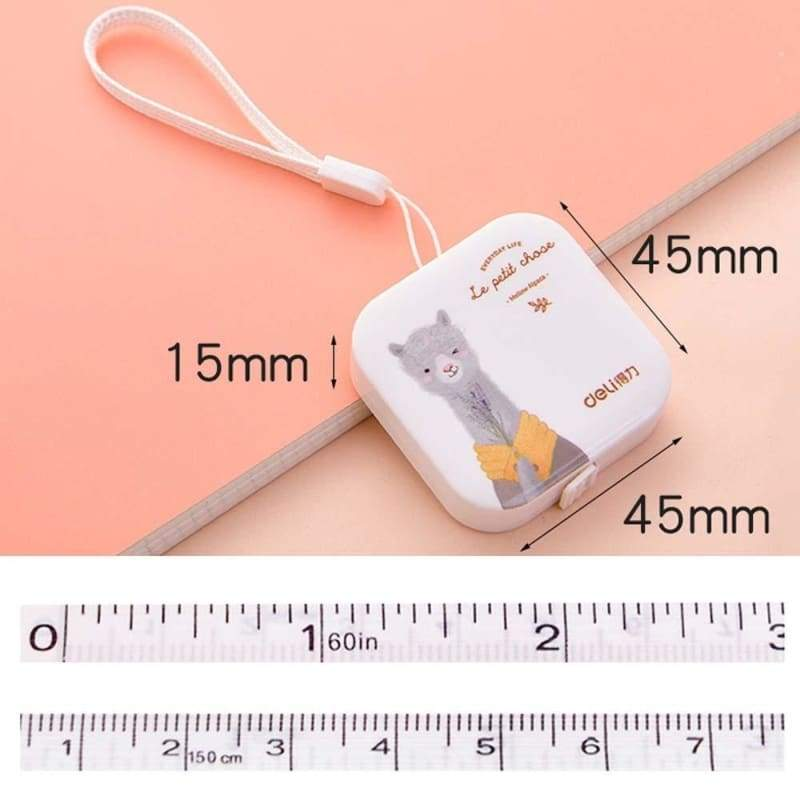 1.5M/60In 1pc Colorful Meter Germany Quality Soft Tailor Tape Leather Ruler Body Measuring Ruler Sewing Tools