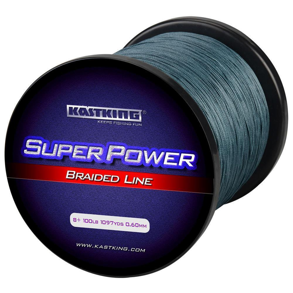 Kastking 8 Strand 1000M Braided Fishing Line 65-150Lb Multifilament Line For