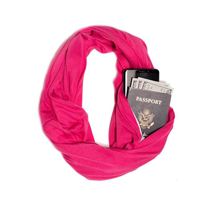(🎅EARLY XMAS SALE - 50% OFF) Infinity Pocket Scarf