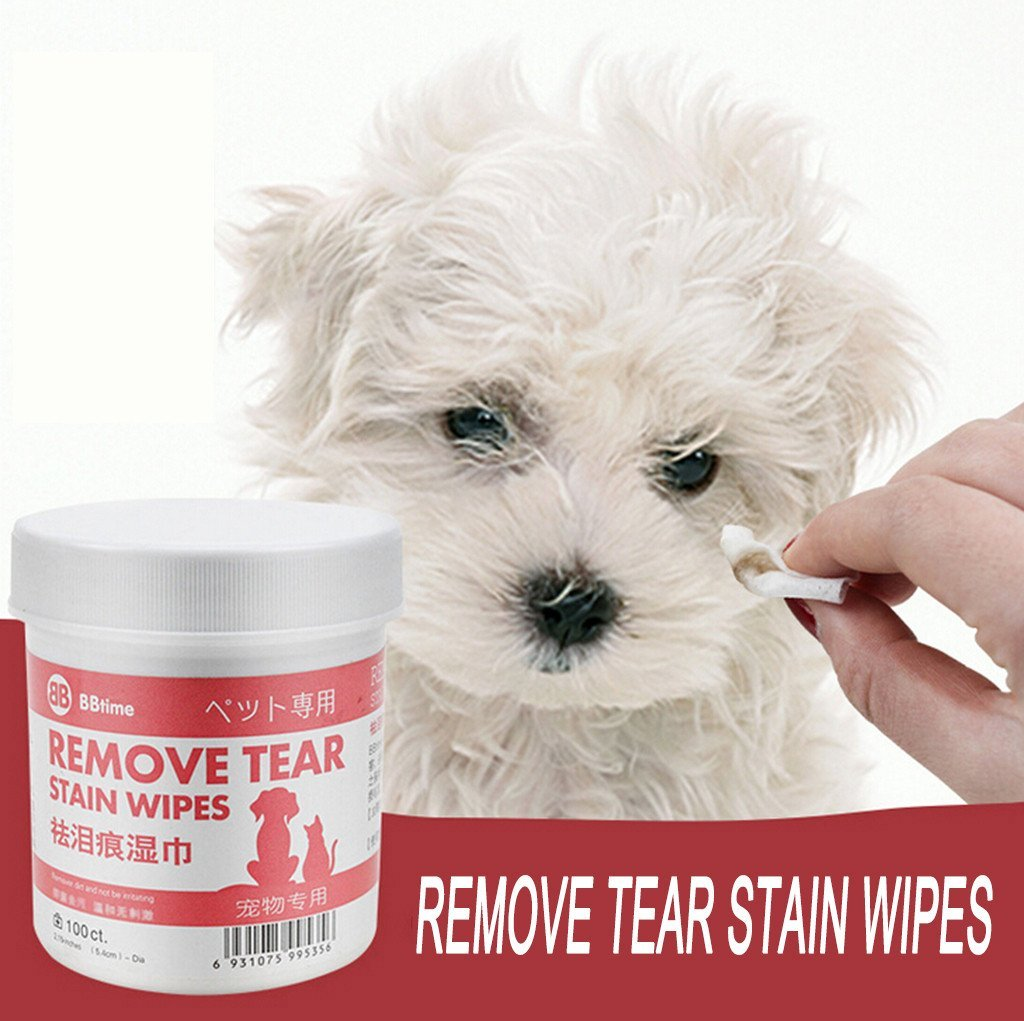 Pet Remove Tear Stain Wipes(Buy Two Free Shipping)