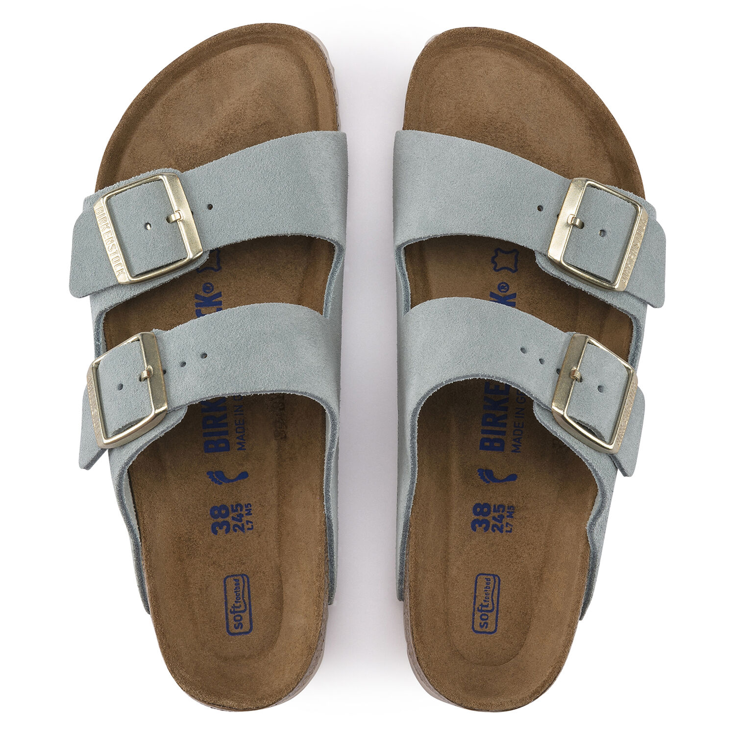 New Arrival!Arizona Soft Footbed Oil Leather Sandal (Buy 2 Get 10% OFF & Free Shipping)