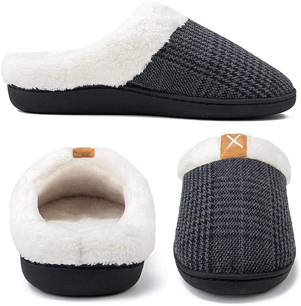 Women's comfortable plush non-slip slippers