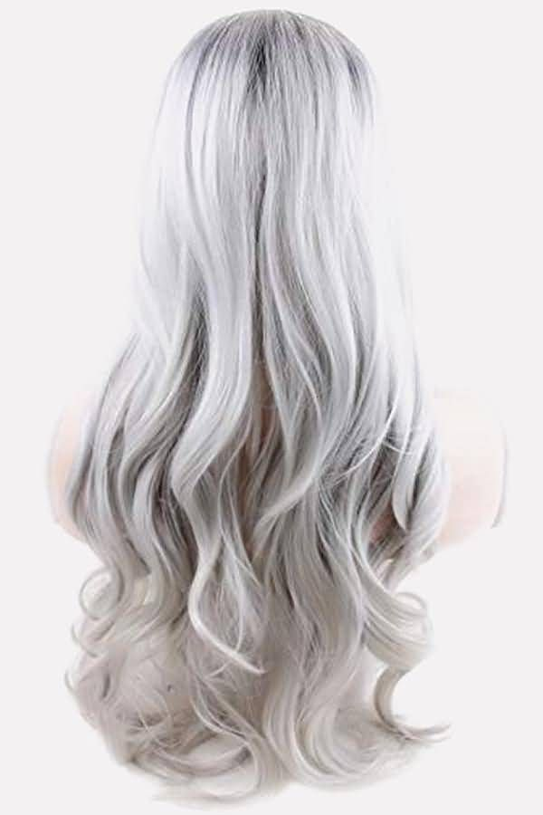 2020 New Gray Hair Wigs For African American Women Gray Ombre Hair Warm Grey Hair Ash Grey Hair Colour Online Metallic Gray Hair Color Cheap Wigs Near Me