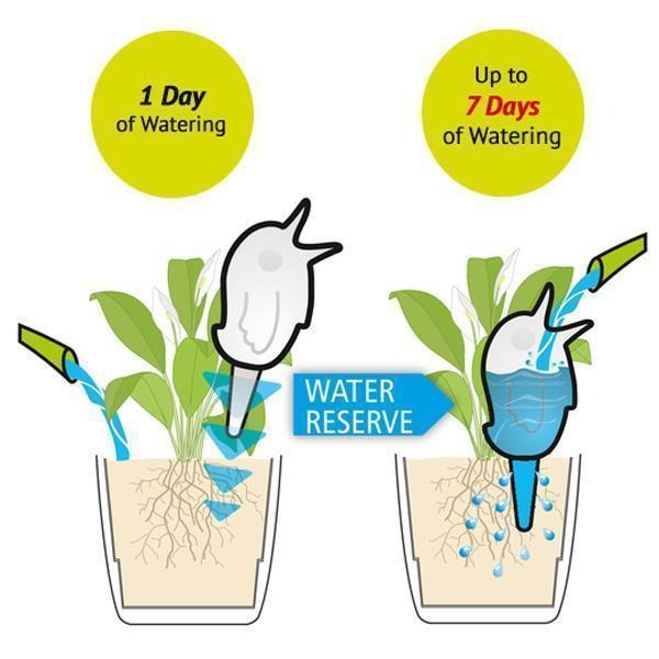 💥Early Summer Hot Sale 50% OFF💥 Automatic Bird Shaped Plant Waterer