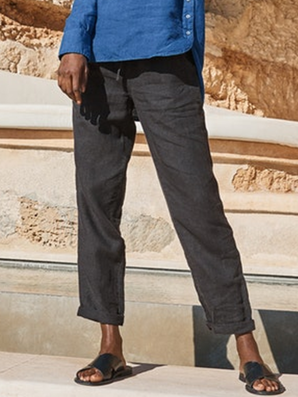 Cool Solid Casual Pockets Pants