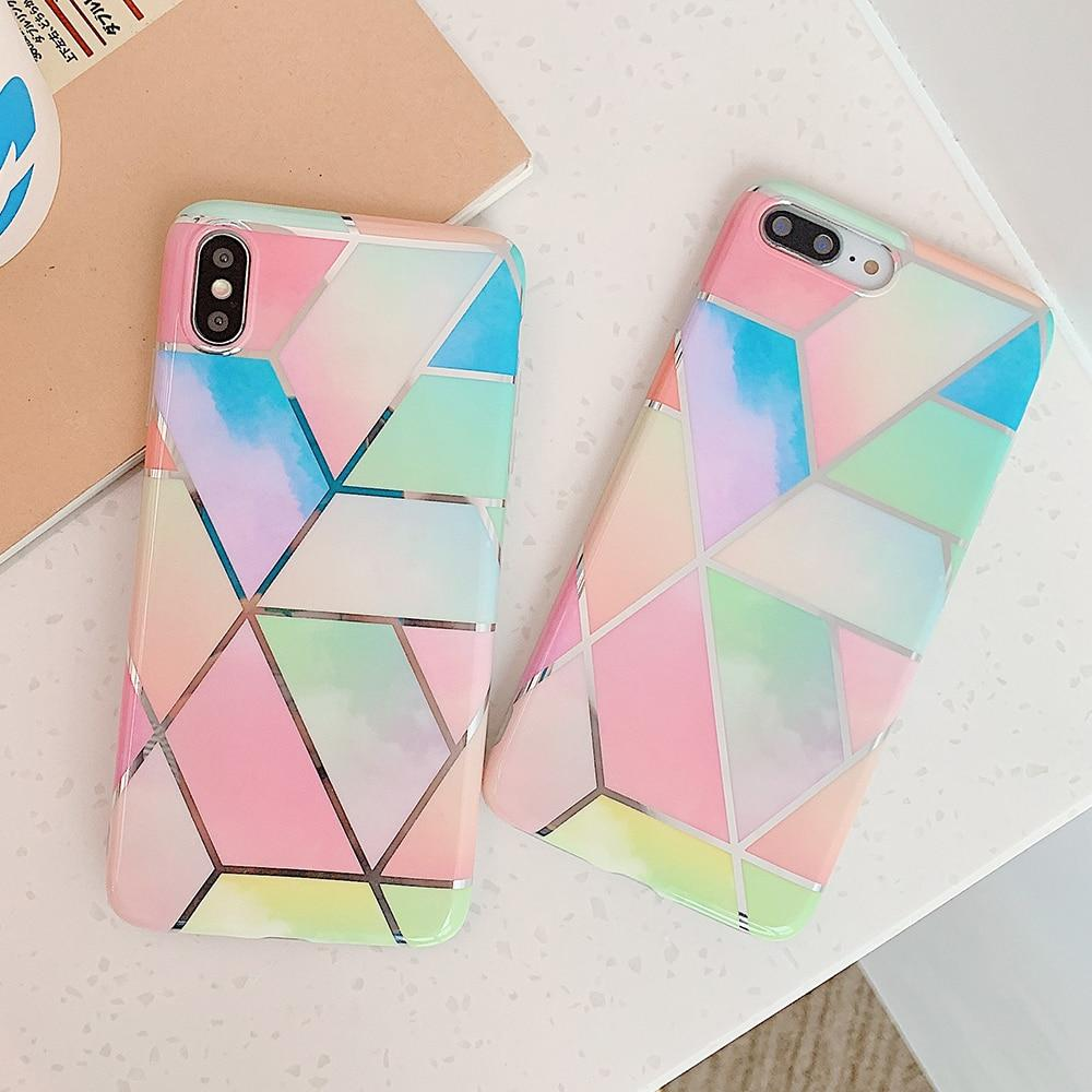 Colorful Marble Case