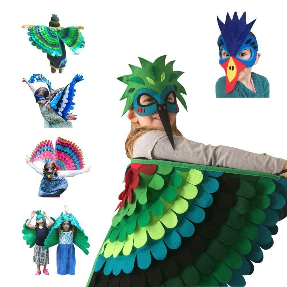 Higomore™ Fantasy Outfit - Bird Wings with Mask
