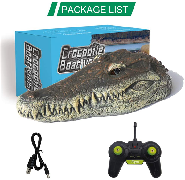 🔥 BUY 2 SAVE 10% & Free shipping🔥Crocodile Head Remote Control Boat