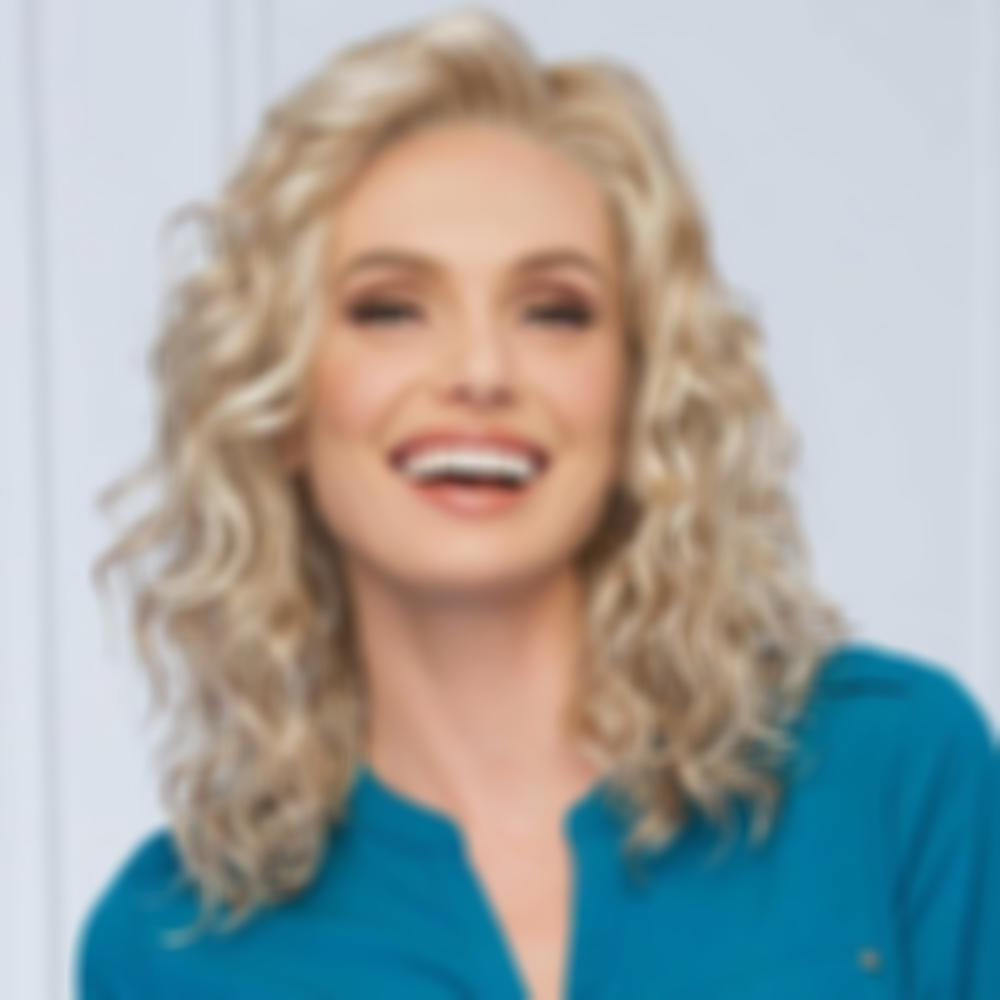 KAMI 172 Medium Curly Wigs Layered  Hair Beauty Fluffy Wig for Women