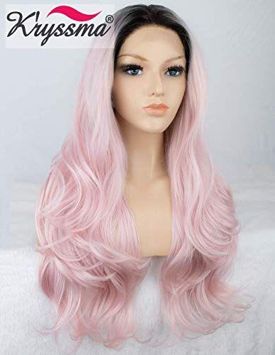 Lace Frontal Wigs Pink Bubblegum Wig For Women