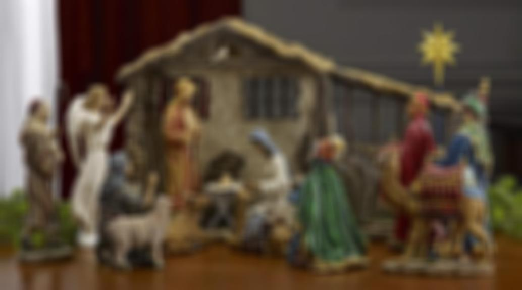 Only $29.99 Real Life Nativity Set