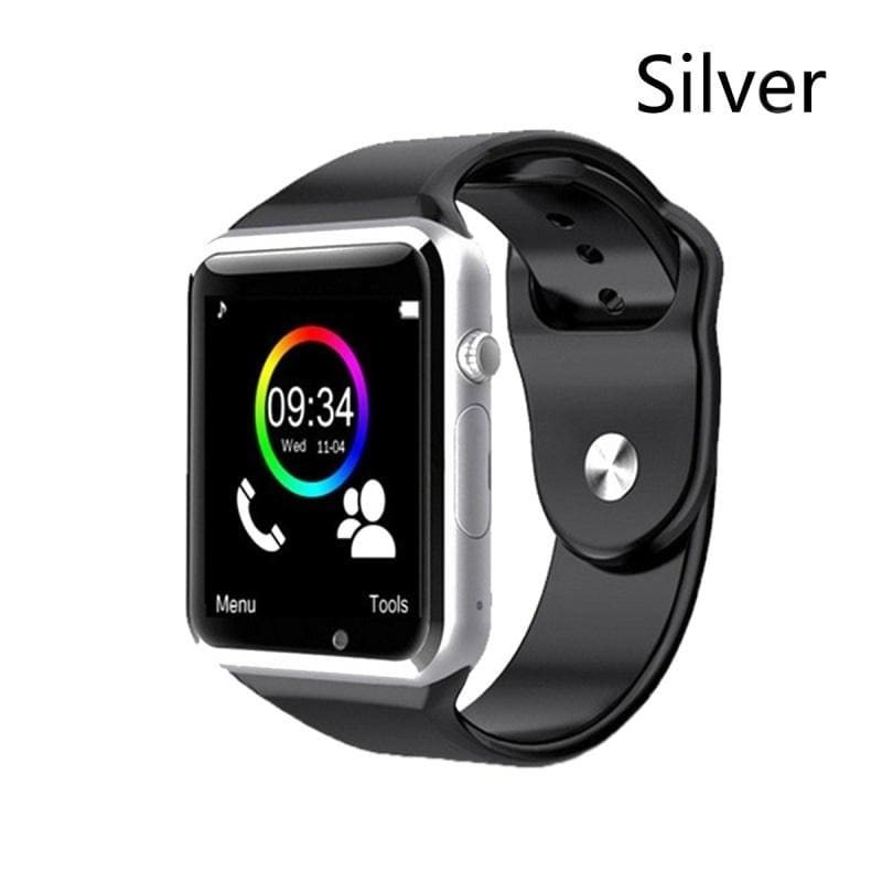 NEW Waterproof A1 Smart Watch Bluetooth GSM Sim Phone Pedometer Sedentary Remind Sleep Monitor Remote Camera for Android/iOS