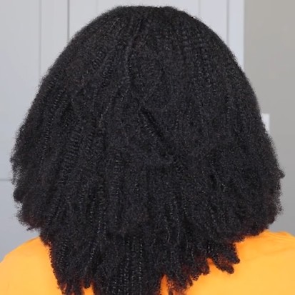 2020 New Fashion Natural Perfect Curly Wig