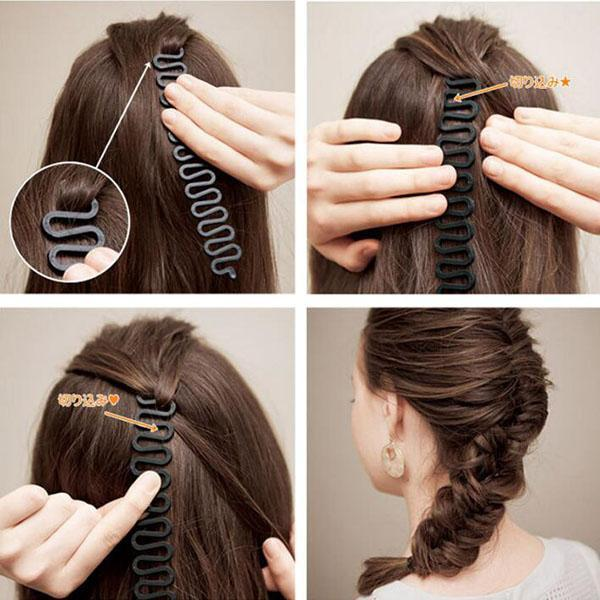 Easy & Quick Magical Women French Braiding Tool