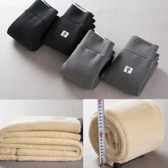 【Buy 2 Free Shipping】Winter Tight And Warm Thick Cotton Pants