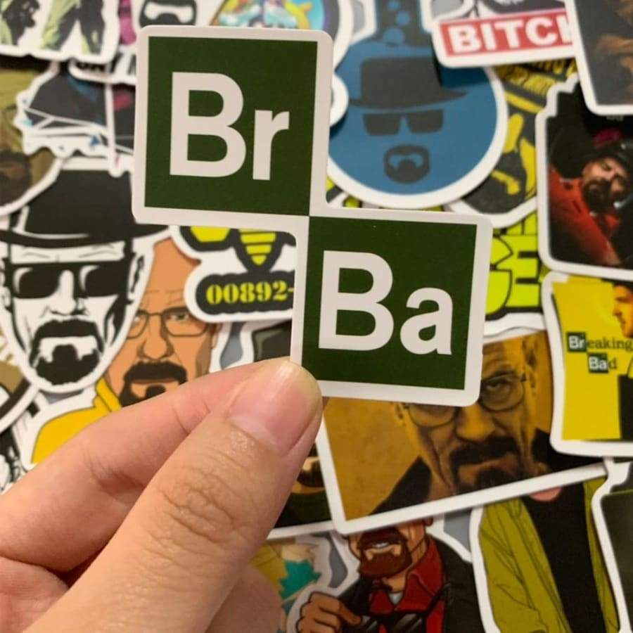 50 pcs New movie stickers Breaking Bad Stickers Various shapes Creative design Doodle Stickers