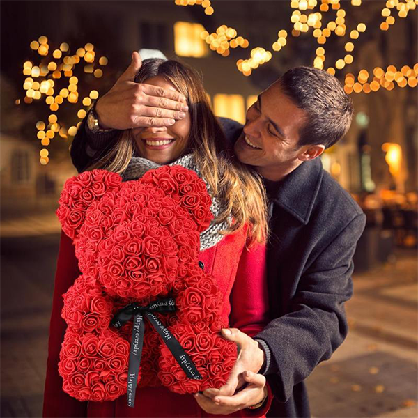 🌹🌹(Last Day Promotion 60% OFF) THE LUXURY ROSE TEDDY BEAR