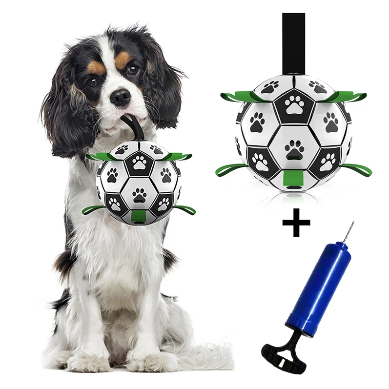 Dog Toys Football Toy Dogs Ball Toy Outdoor Multifunctional Interactive Rope