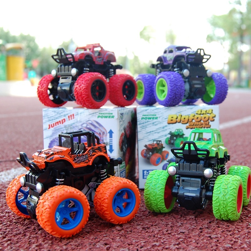 Child Inertia Power Buggy Toy Boy Car Model Kids Toys Children Christmas Gifts