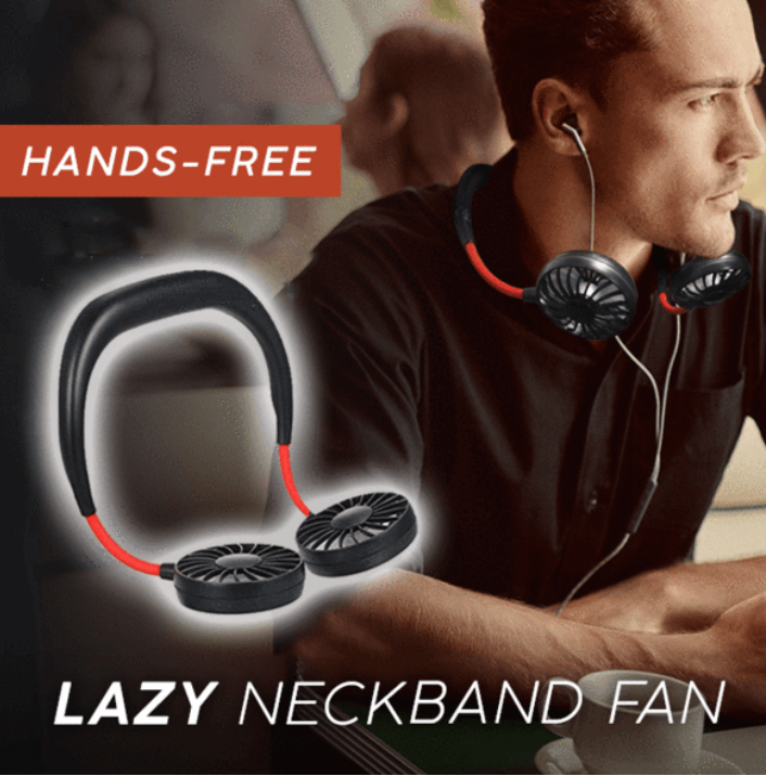 (🔥HOT SALE NOW-50% OFF)2021 Newest Portable Hanging Neck Fan(BUY 2 GET FREE SHIPPING)