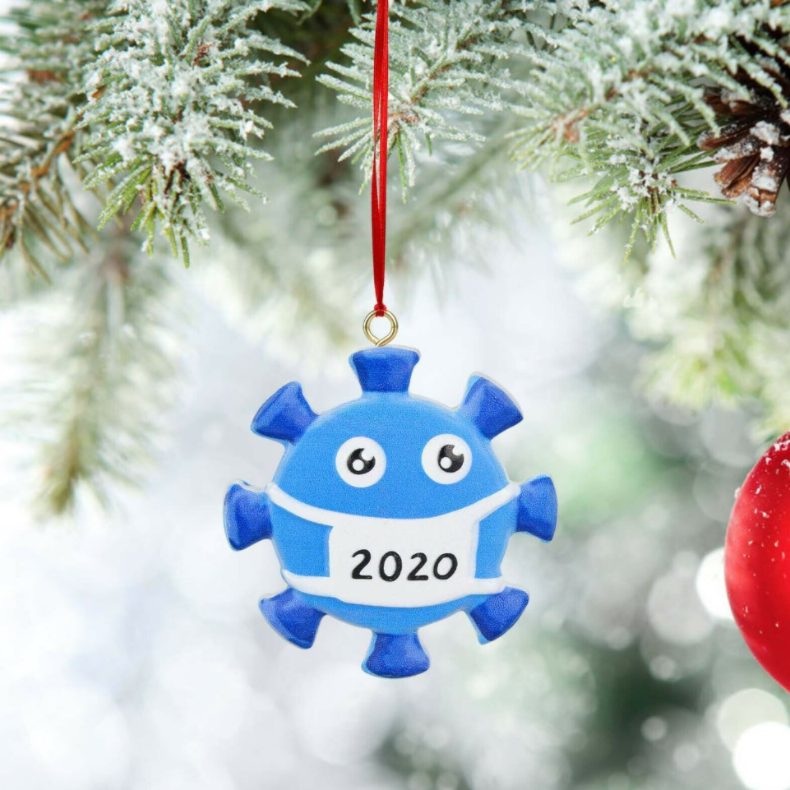 Christmas Ornament commemorate the 2020  with this  ornament