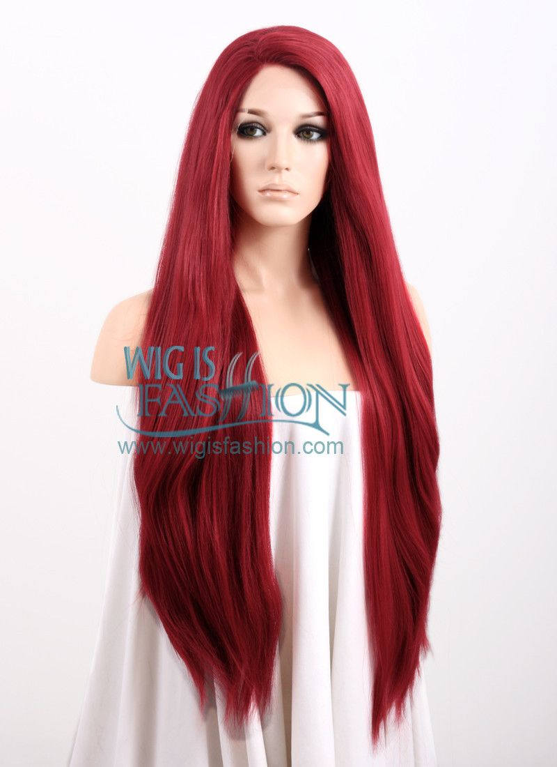 Red Wigs Lace Front Red Wine Hair Copper Orange Hair Modern Haircuts For Men Asymmetrical Pixie Cut Curl Enhancer Summer Hairstyles