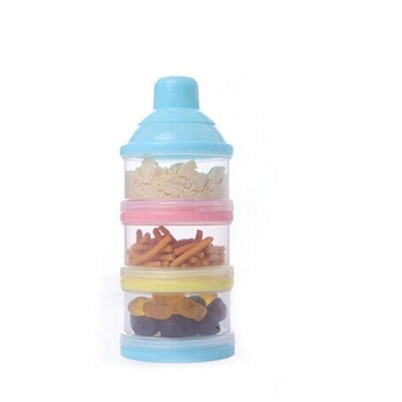 Cute Portable Container Infant Food Milk Feeding Powder Dispenser Bottle Baby Travel Storage Box Products