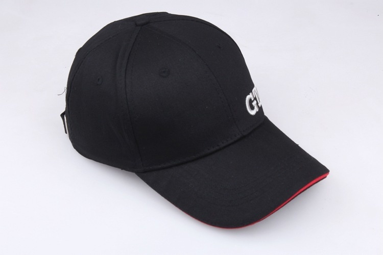 GTI Snapback Auto Racing Peripheral Products Snapback Cap Black Hat