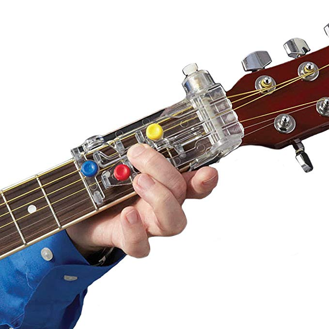 ChordBuddy Guitar Learning System & Teaching Aid Chord Buddy with True Tune Chromatic Tuner (Buy two free shipping)