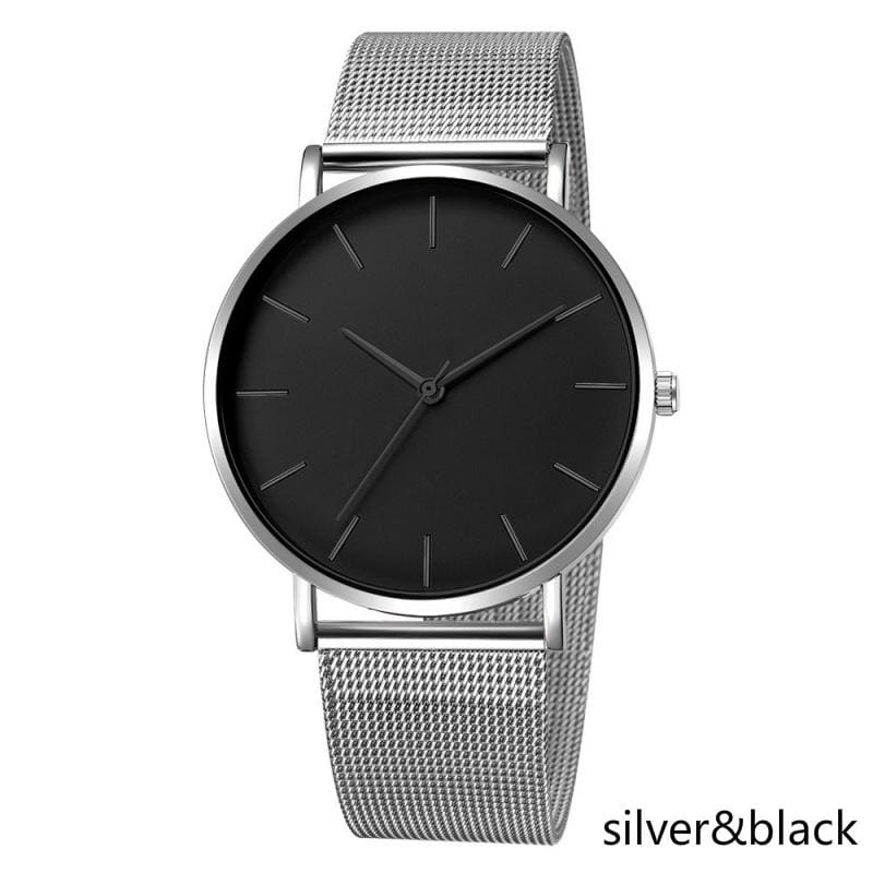 2019 New Women watch Female watch Ladies watch  Pointer  Stainless steel mesh belt  Wrist watch  Modern stylish  Dress Watch  gift