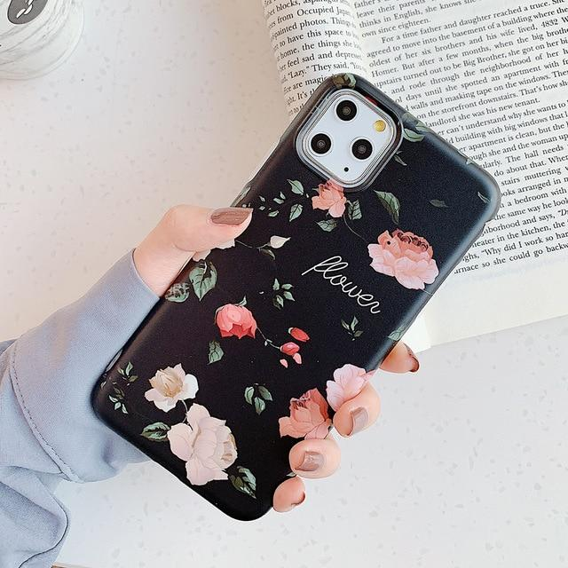 Retro Flower Case