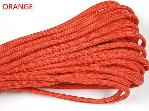 100FT/pc 30m 550 paracord Parachute Cord Lanyard Rope Mil Spec Type III 7 Strand core 50 colors for option