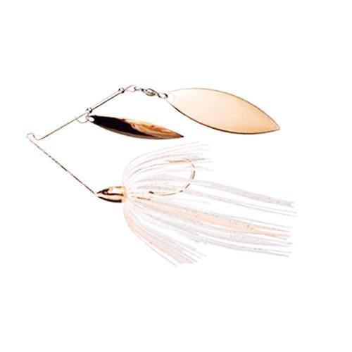 WAR EAGLE COPPER 3//8 OZ DOUBLE WILLOW SPINNERBAIT ALL COPPER LOT OF FIVE