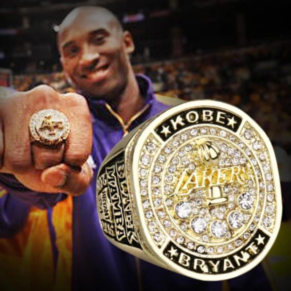 2016 Kobe Gold plating emulation Retirement Ring