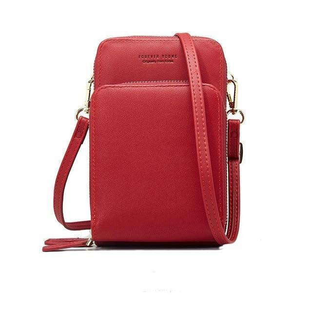 Crossbody Cell Phone Shoulder Bag Daily Use Card Holder