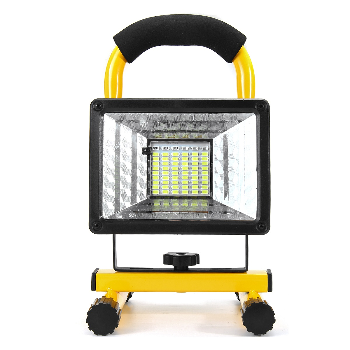 [ With or without Remote Control ] 100/300W 60LED Portable Waterproof Flood Light Outdoor Work Spotlight Camping Fishing Searching Lamp Rechargeable Car Emergency Light