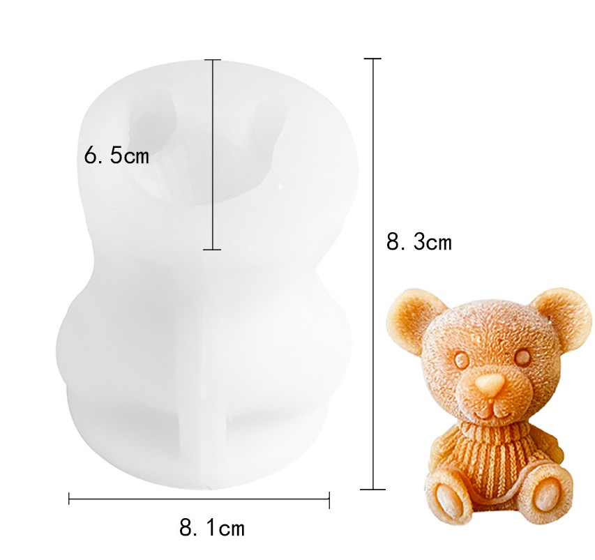 Bear Ice Mold