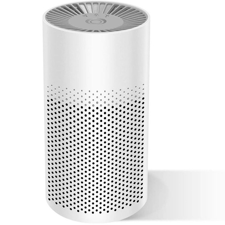 Mini Air Purifier for Fire Smoke 3-in-1 True HEPA Safety Mini Air Purifiers Filter for Children & Elder