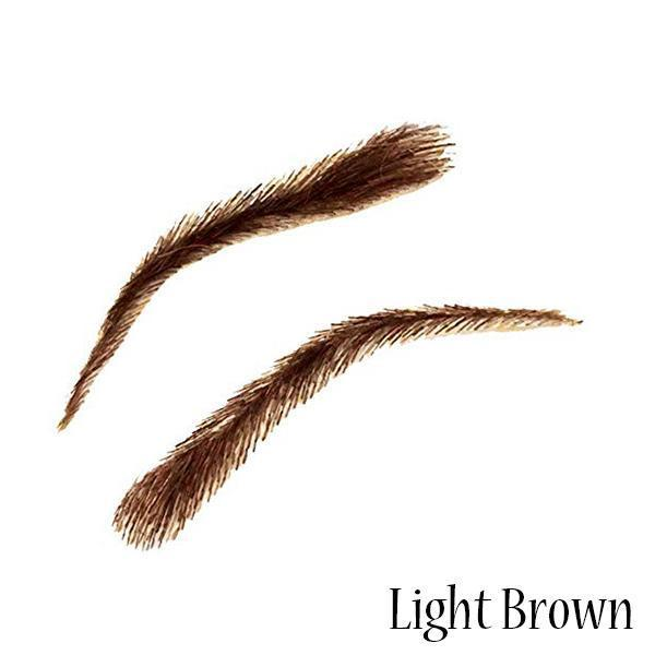 $9.99,Cyber Monday Deals-False Eyebrows,Natural Human Hair Silicone Base(One Pair)