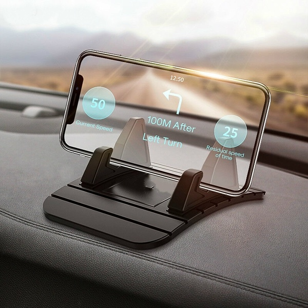 New  Car Dashboard Non-slip Mat Rubber Mount Phone Holder Pad Mobile Phone Stand Bracket For Samsung  iphone huawei Mobile Holder